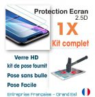 1 kit verre trempé 2.5d finition hd Apple  5c