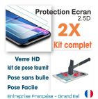 2 kits verres trempés 2.5d finition hd Apple  5c