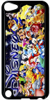 Coque compatible avec Apple Ipod Touch 5 - DISNEY ALL - Plastique - bord Noir
